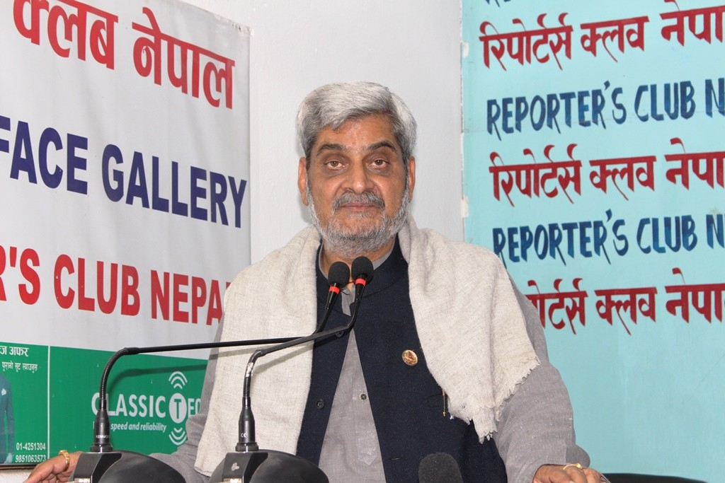 Hridesh Tripathi at Reporters_ Club Nepal _4_.JPG